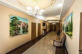 Холл отеля - ресторанно-гостиничный комплекс Риони